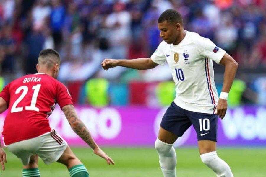 Francia no pudo ante Hungría e igualó en la Eurocopa 2021