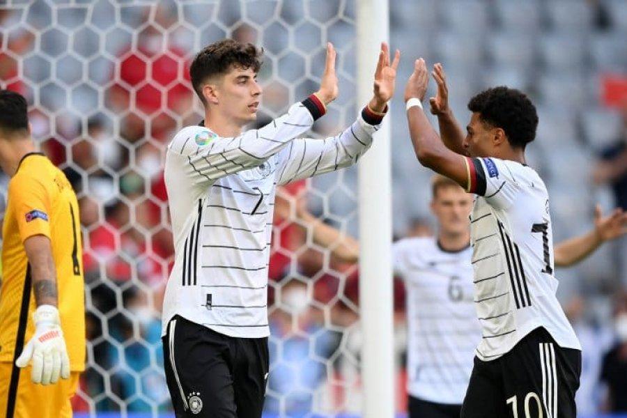 Alemania se recuperó ante Portugal y ganó un verdadero partidazo en la Eurocopa