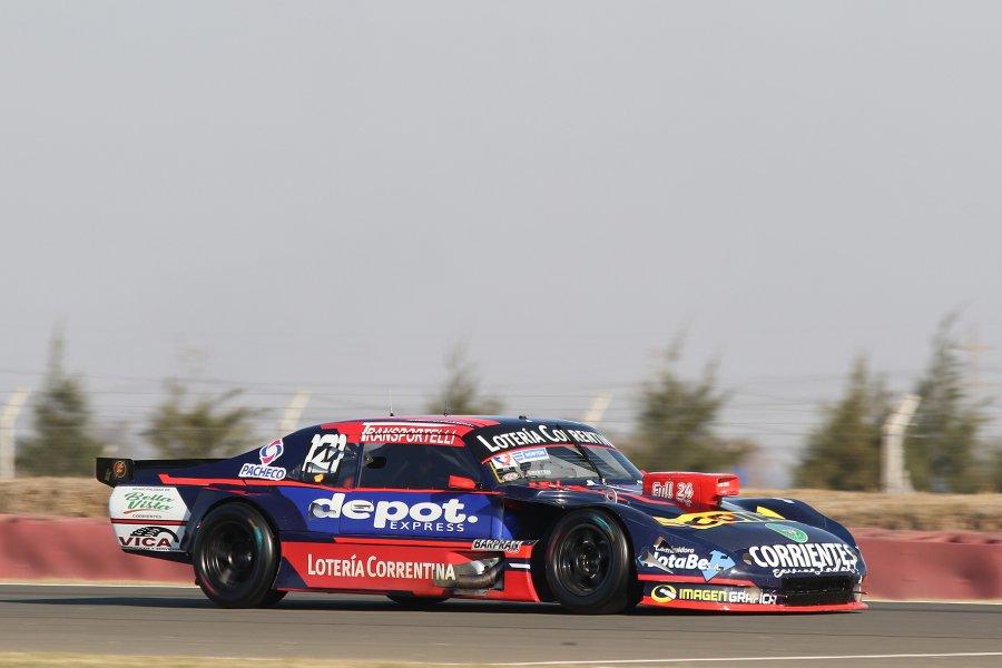 Krujoski realizará cambios en el auto para lograr una mejor performance