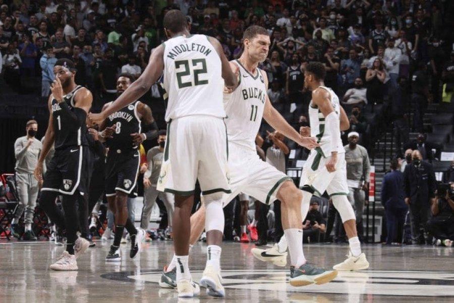 Milwaukee Bucks dio el golpe al vencer a Brooklyn Nets y sigue en los NBA Playoffs