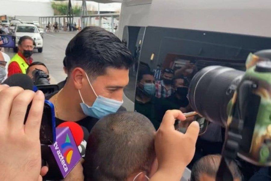 Andrada llegó a México para sumarse a Monterrey