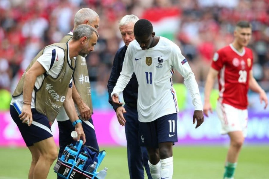 Dembélé se pierde el resto de la Eurocopa por lesión