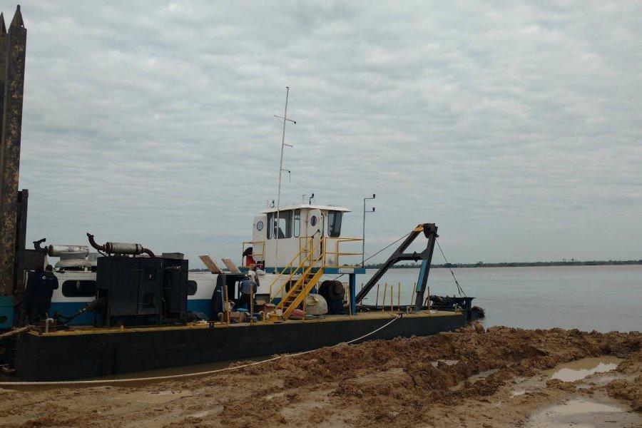Reestatización, dragado y balizamiento del río Paraná