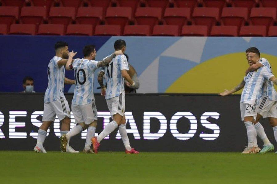 La Selección Argentina venció a Paraguay y se clasificó a los cuartos de final