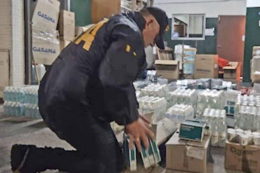 Allanaron tres droguerías y detectaron mucha falsificación