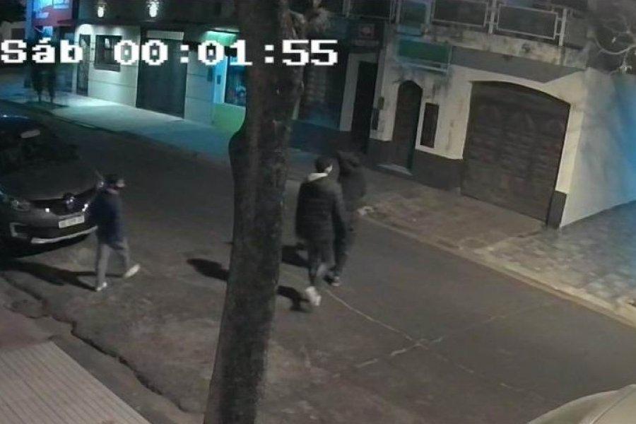 Maleantes entraron a una casa para sustraer una motocicleta