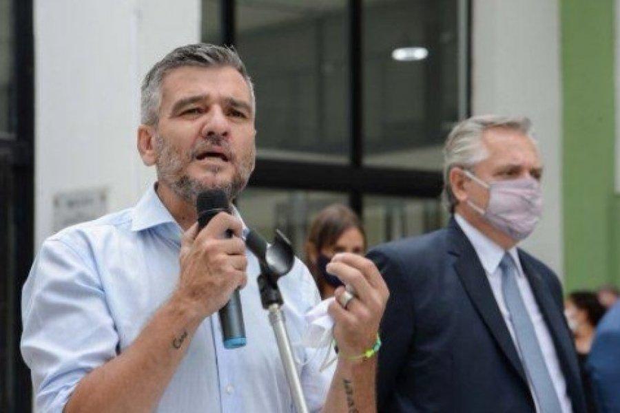 Zabaleta aseguró todo el apoyo nacional al profe Bassi en Goya