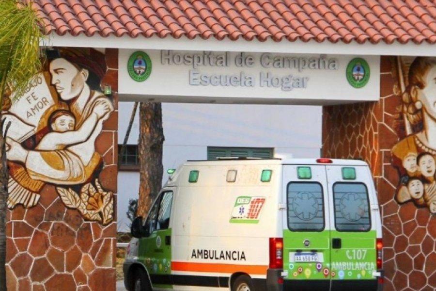 Hospital de Campaña: Creció la internación en terapia intensiva