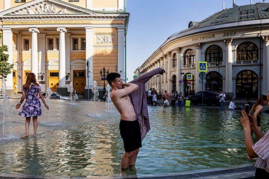 Una ola de calor histórica castiga a Moscú con temperaturas récord en 120 años