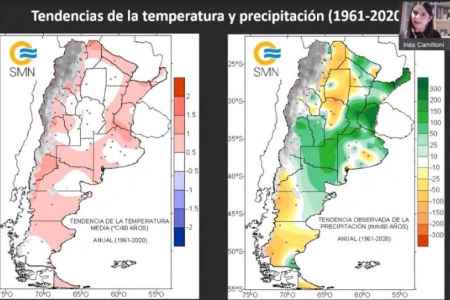 Cambio Climático: Para el NEA los principales impactos son mayores precipitaciones y aumento de calor