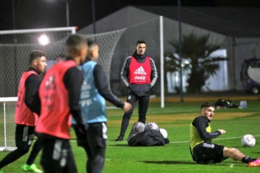 Argentina volvió a Ezeiza para recuperar la condición física