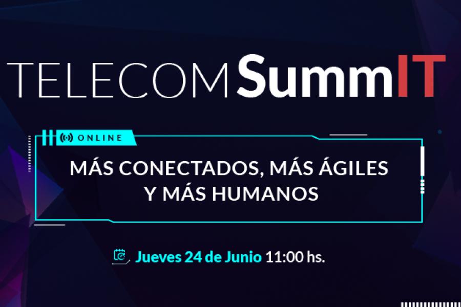 """Telecom presenta """"Telecom SummIT 2021"""" la nueva edición del ciclo de eventos virtuales para el mercado corporativo"""