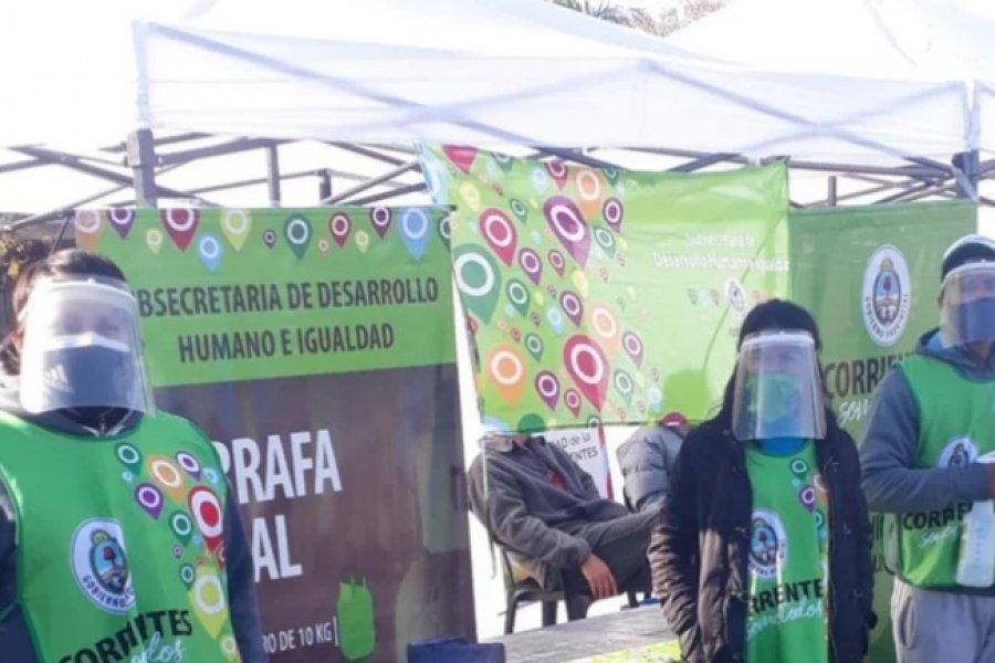 Se suspendió la venta de garrafas sociales por asueto administrativo en Corrientes