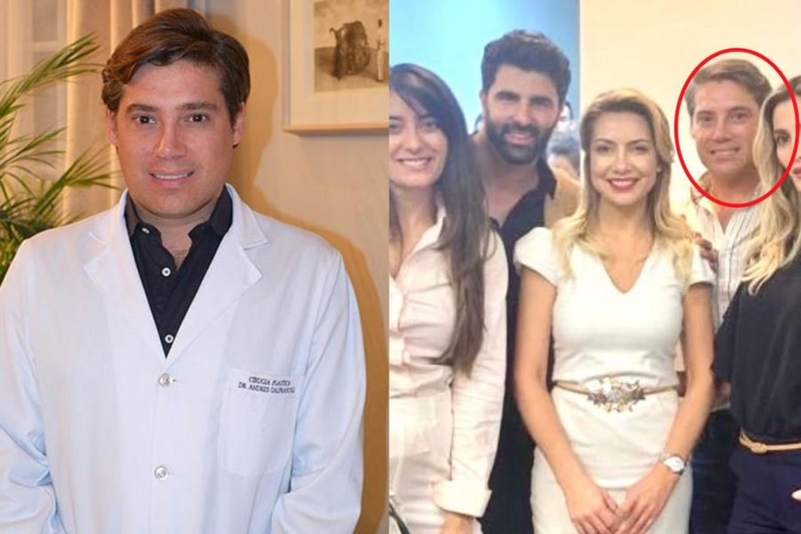 El gesto de Fabiola Yáñez con la familia del cirujano desaparecido