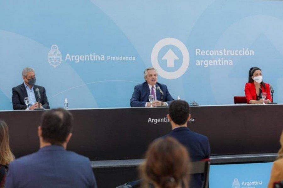 Alberto Fernández lanzó un programa de viviendas para mayores de 60