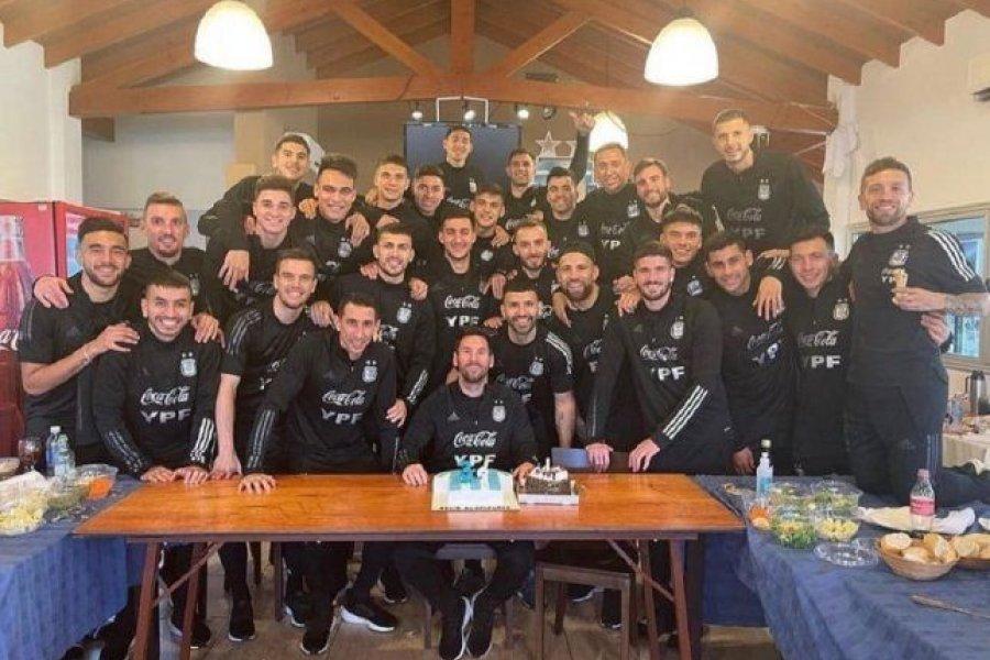 Lionel Messi cumplió años: así fueron los festejos en la concentración