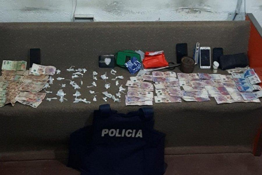 Corrientes: Tres detenidos tras incautar cocaína, marihuana y motos