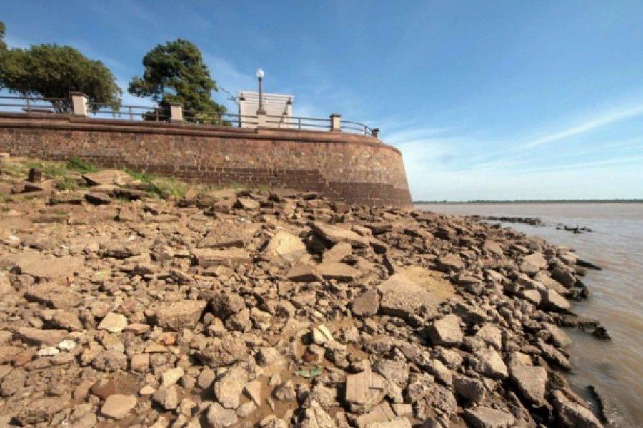 Bajante del Paraná: El río se encuentra doce centímetros por debajo del cero