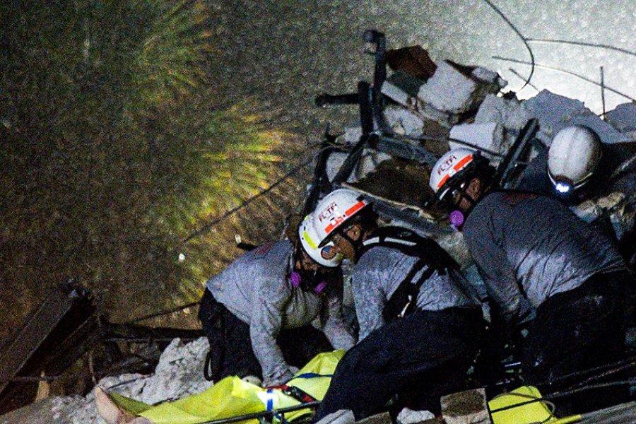 Encontraron el cuerpo de otra víctima y ya suman cinco los fallecidos por el derrumbe
