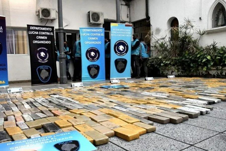 De Corrientes a las villas porteñas: interceptaron más de 700 kilos de droga