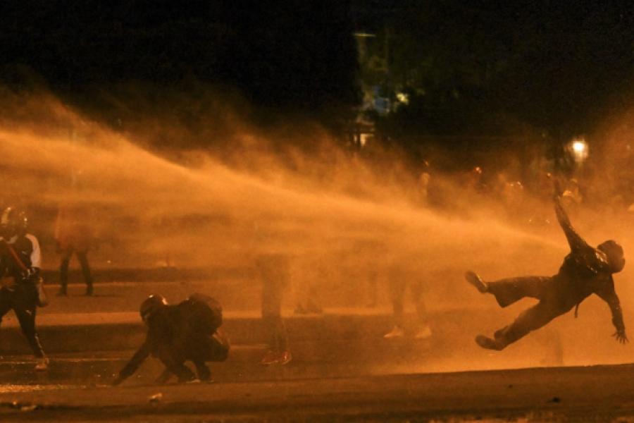 Disturbios en protestas a dos meses del estallido social