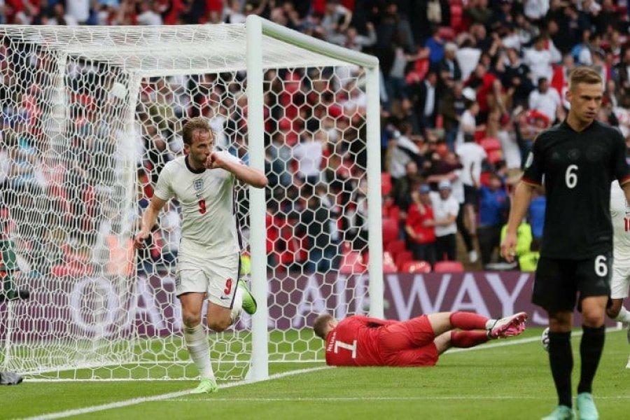Inglaterra eliminó a Alemania y se metió en cuartos de final