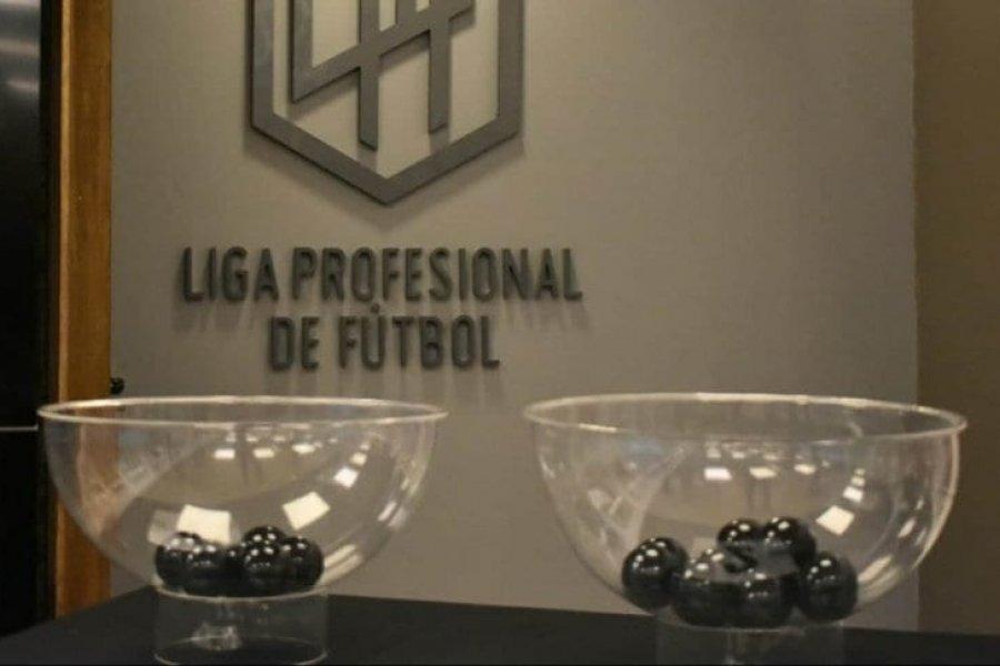 Sorteo del fixture de la Liga Profesional: cómo quedaron los cruces