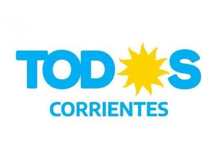 El Frente Corrientes de Todos irá con 23 partidos a los comicios provinciales