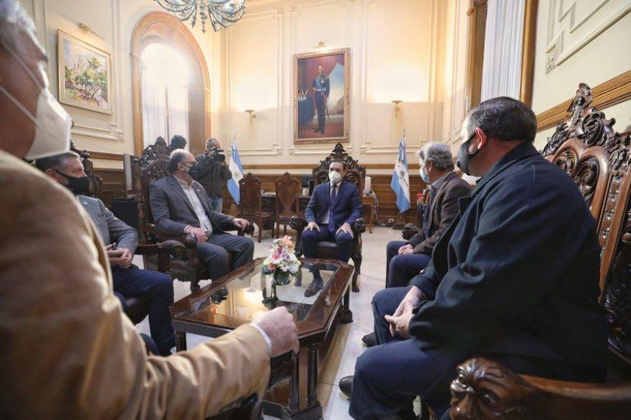 Cepo a la carne: qué dijeron a la Mesa de Enlace los gobernadores Valdés y Capitanich