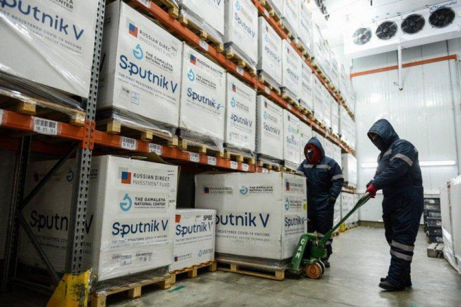Este viernes llegan al país más de 1,1 millones de vacunas Sputnik V