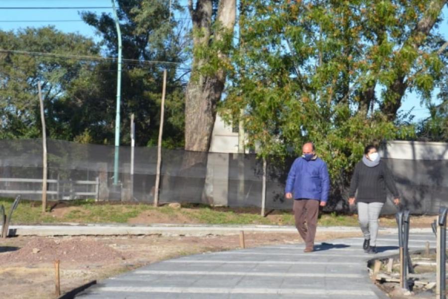 Programa Argentina Hace: El Intendente Diego Caram supervisó las obras