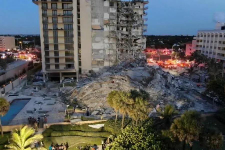 Niña fallecida hallada entre los escombros de edificio de Miami es hija de una argentina