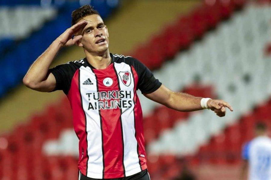 River le dice adiós a Santos Borré: todo encaminado para su salida