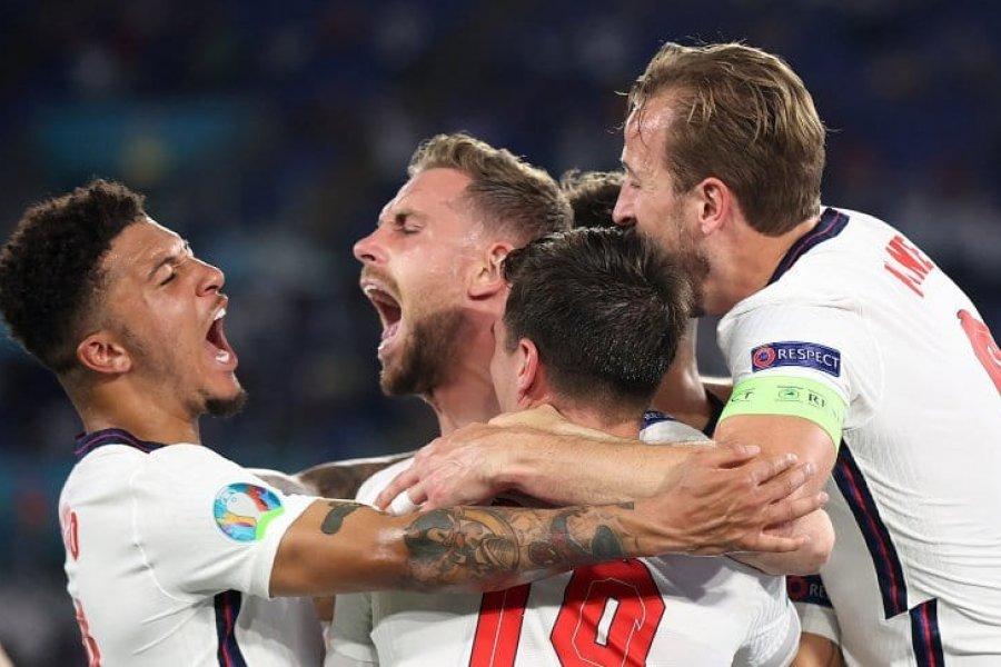 Inglaterra no tuvo piedad ante Ucrania y se metió en las semifinales de la Eurocopa