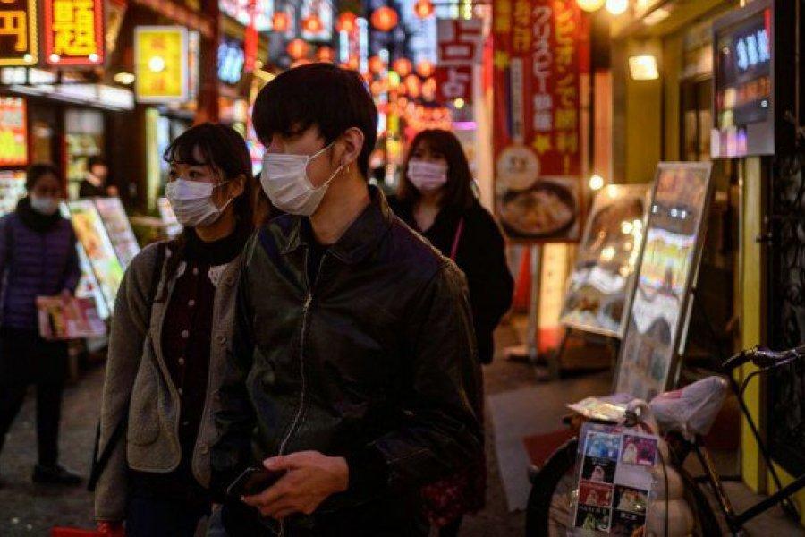 Récord de casos en Tokio a tres semanas de los Juegos Olímpicos