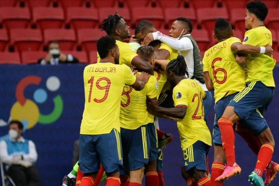 Colombia derrotó a Uruguay por penales y se clasificó a las semifinales