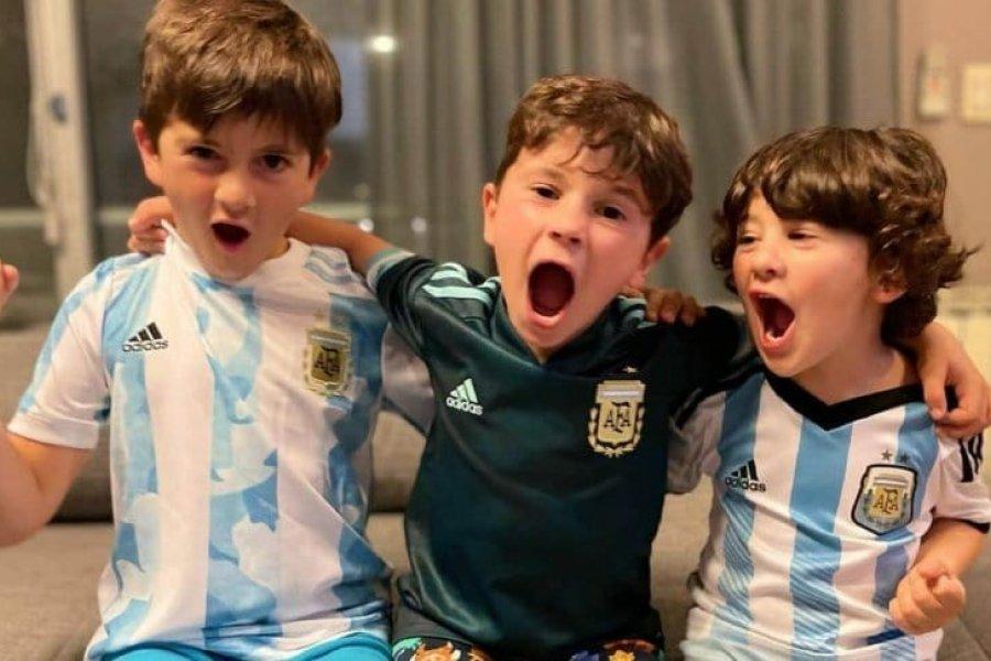 Antonela Roccuzzo posteó en Instagram tras la clasificación de la Selección Argentina