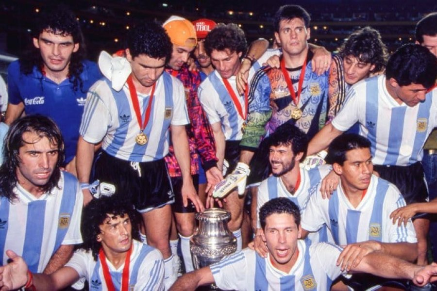 A 28 años del último gran título de la Selección Argentina: la Copa América de Ecuador 93