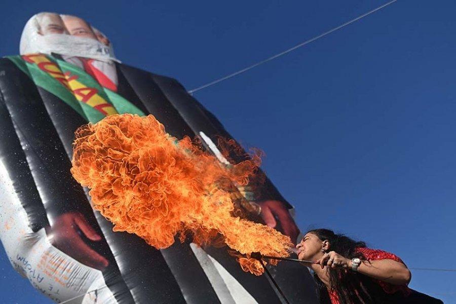 """Miles de brasileños volvieron a las calles bajo la consigna """"Fuera Bolsonaro"""""""