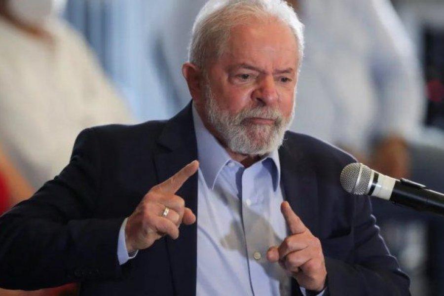 Lula afirmó que quiere venir a Argentina a agradecer el apoyo del Gobierno