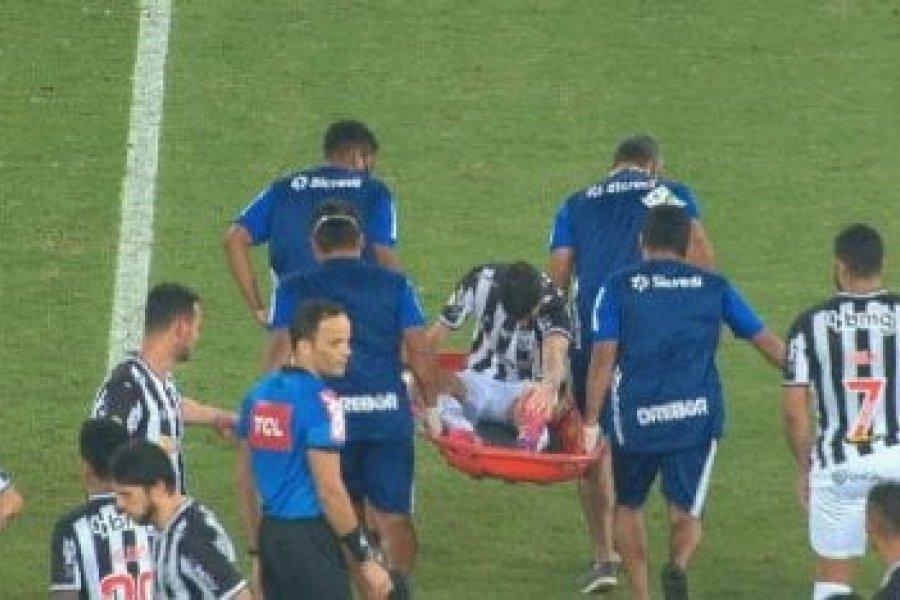 Nacho Fernández encendió las alarmas en Atlético Mineiro a poco del duelo con Boca