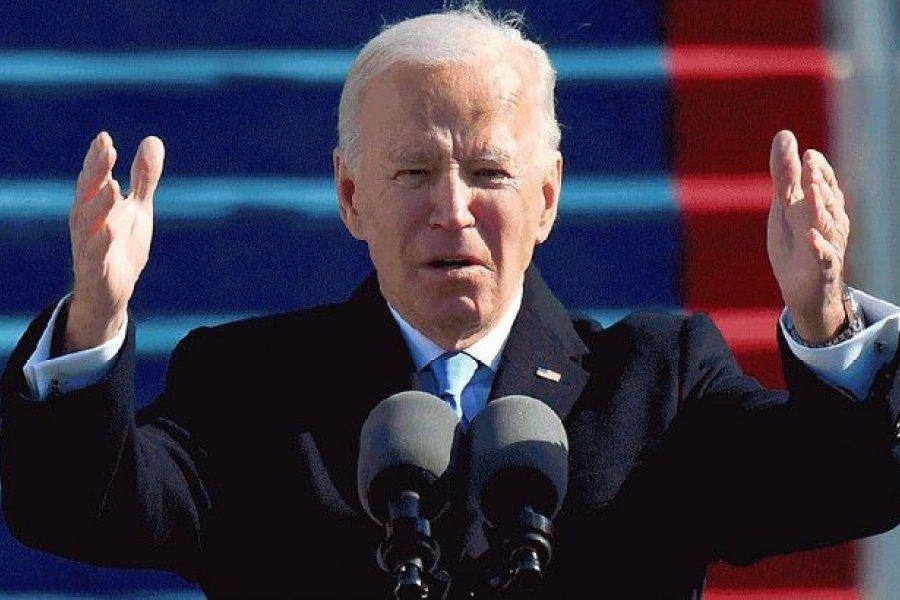 """Joe Biden celebró """"la independencia de EEUU del coronavirus"""""""