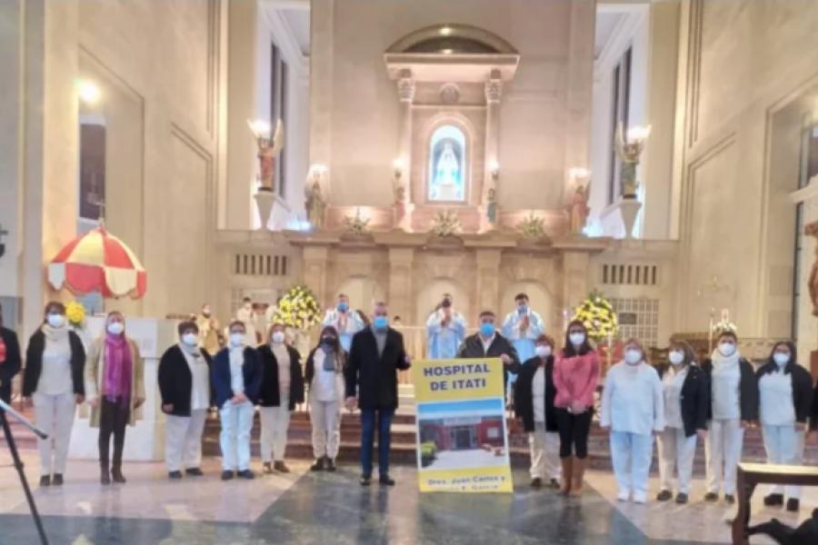 Pandemia: En San Luis del Palmar alistan tributos especiales a la Virgen