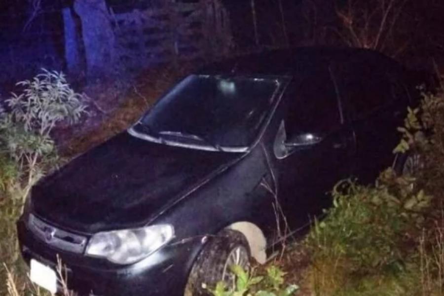 Desesperada búsqueda de un hombre, que despistó con su auto y desapareció