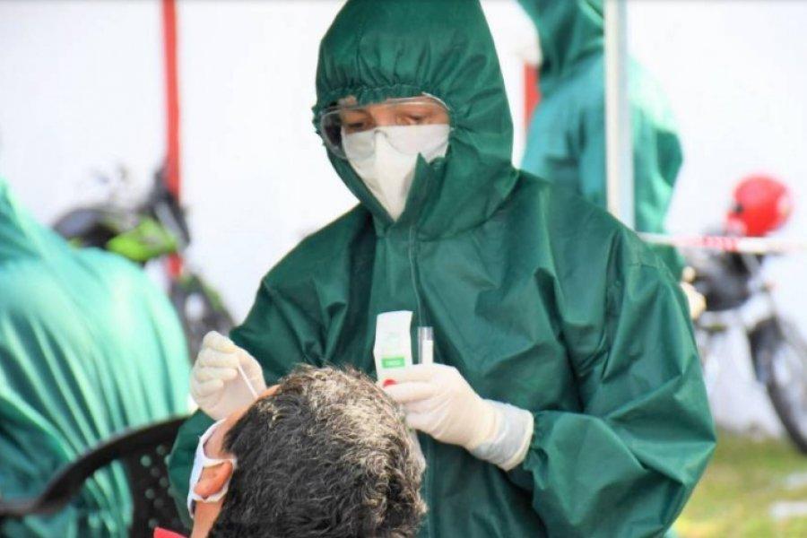 Corrientes registró 814 contagios nuevos de Covid-19
