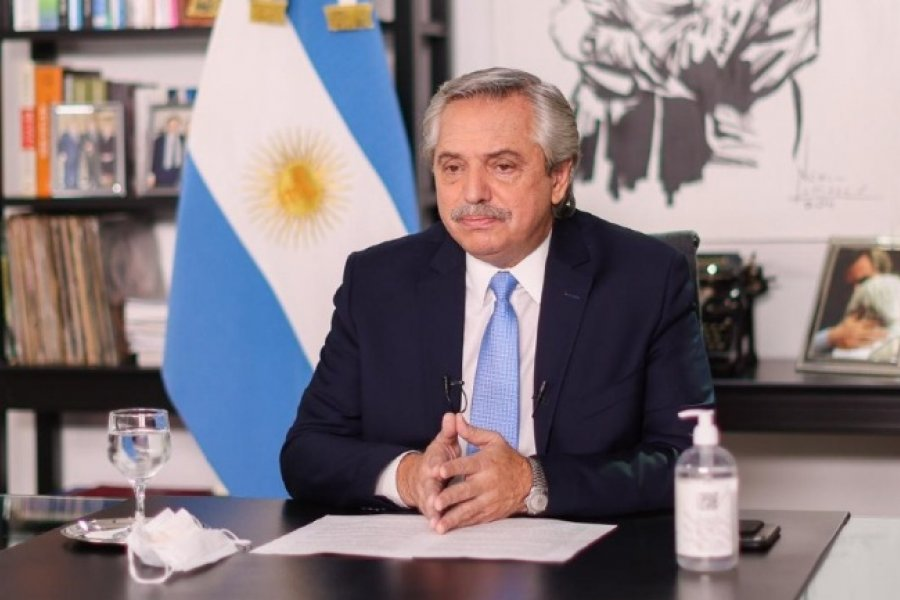 Fernández agradece a China la colaboración con Argentina en la pandemia