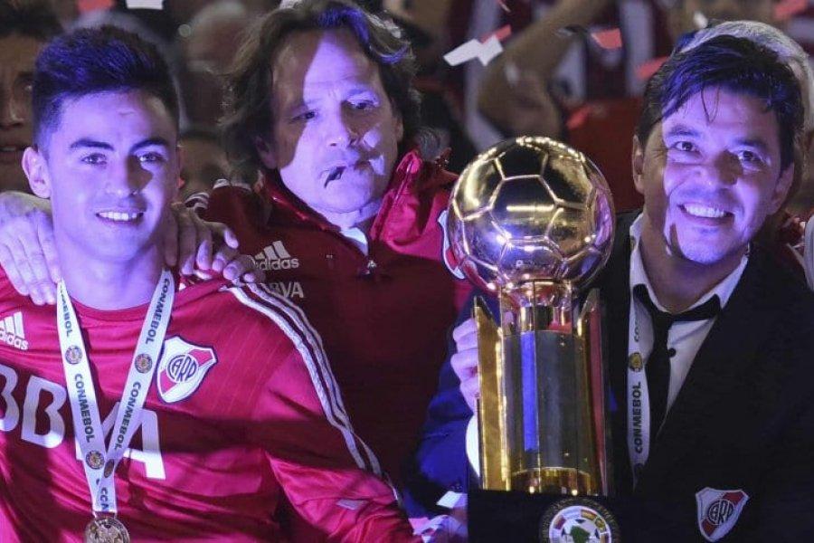 """Gonzalo Martínez, sobre Gallardo: """"es un entrenador para el Real Madrid o el Barcelona"""""""