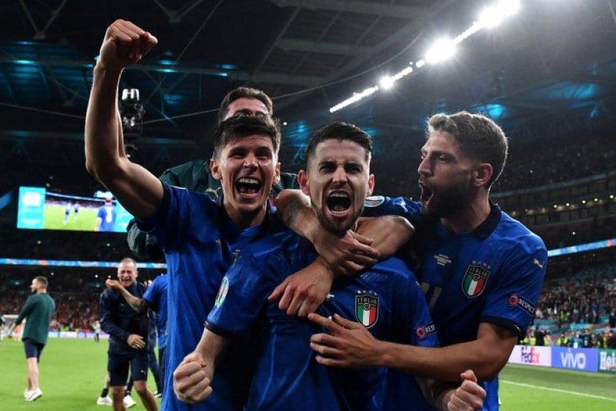 Italia venció a España por penales y es el primer finalista de la Eurocopa 2021