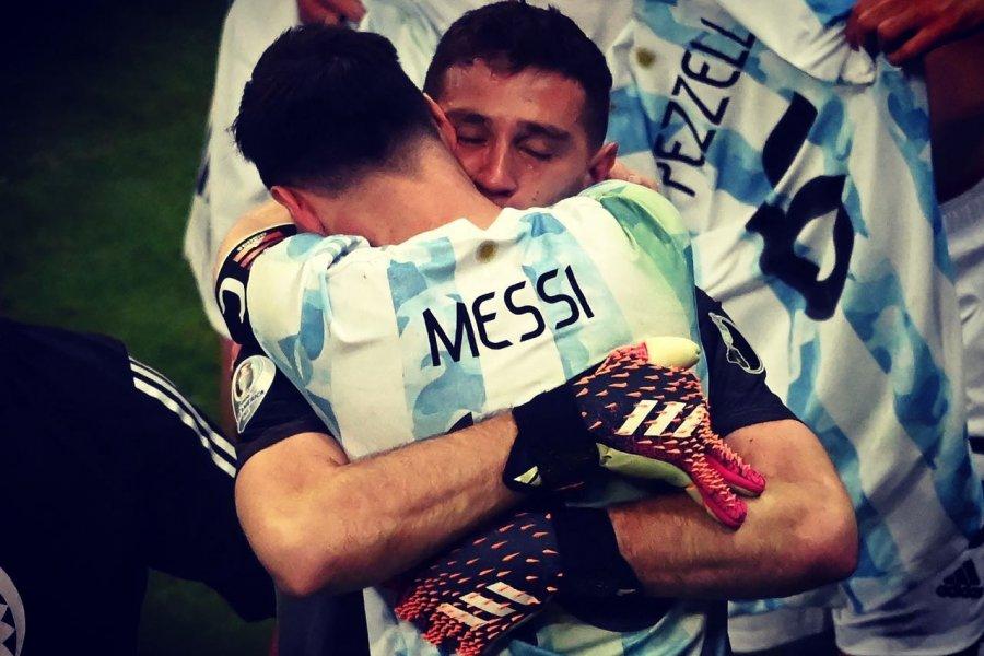 Argentina ganó por penales y es finalista de la Copa América