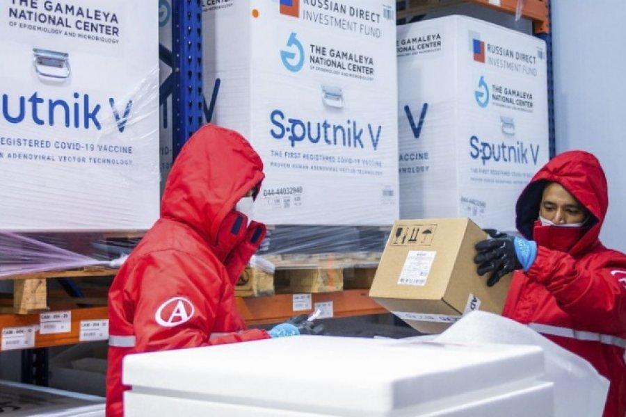 Comenzó la distribución de más de 1,3 millones de dosis de Sinopharm y Sputnik V